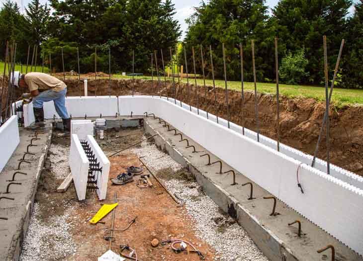 Jenis Beton Untuk Kolam Renang dan Tahapannya