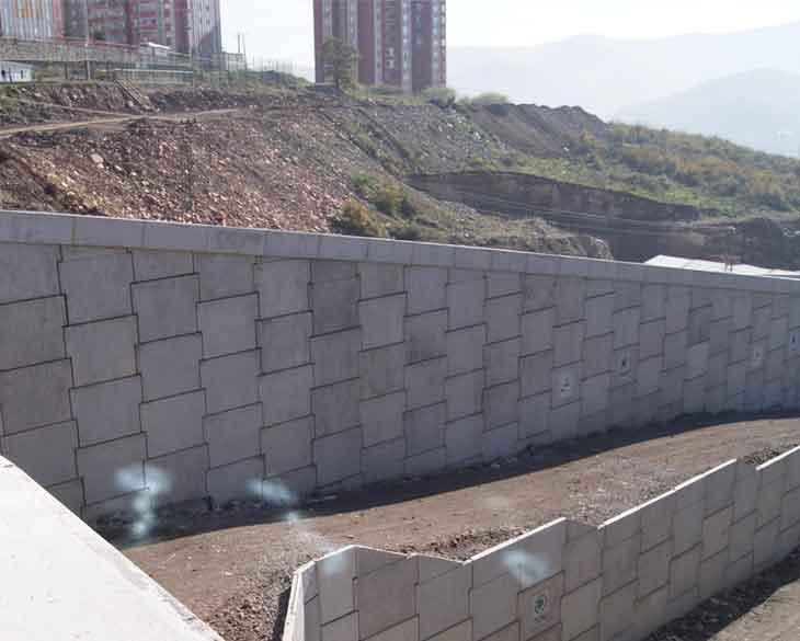 Turap Beton sebagai Konstruksi Penahan Tekanan Tanah dari Longsoran